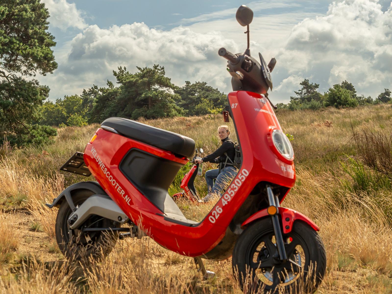 VeluweScooter vanaf Arnhem
