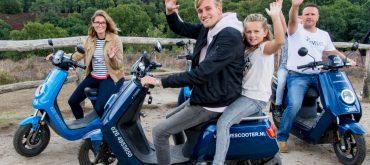 Ouder en kind VeluweScooter