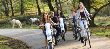 VeluweScooter vanaf Veluwetransferium Posbank