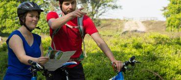 Mountainbiken met gids op de Veluwe