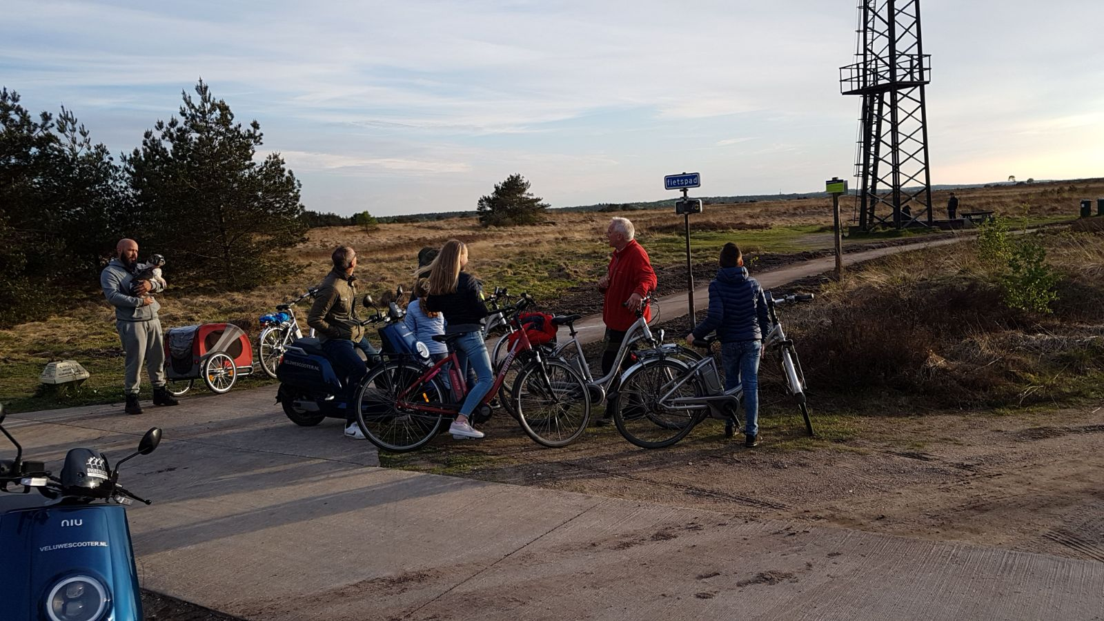 Flyer ebike tour Veluwezoom