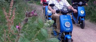 VeluweScooter rijden vanaf Veluwetransferium Posbank