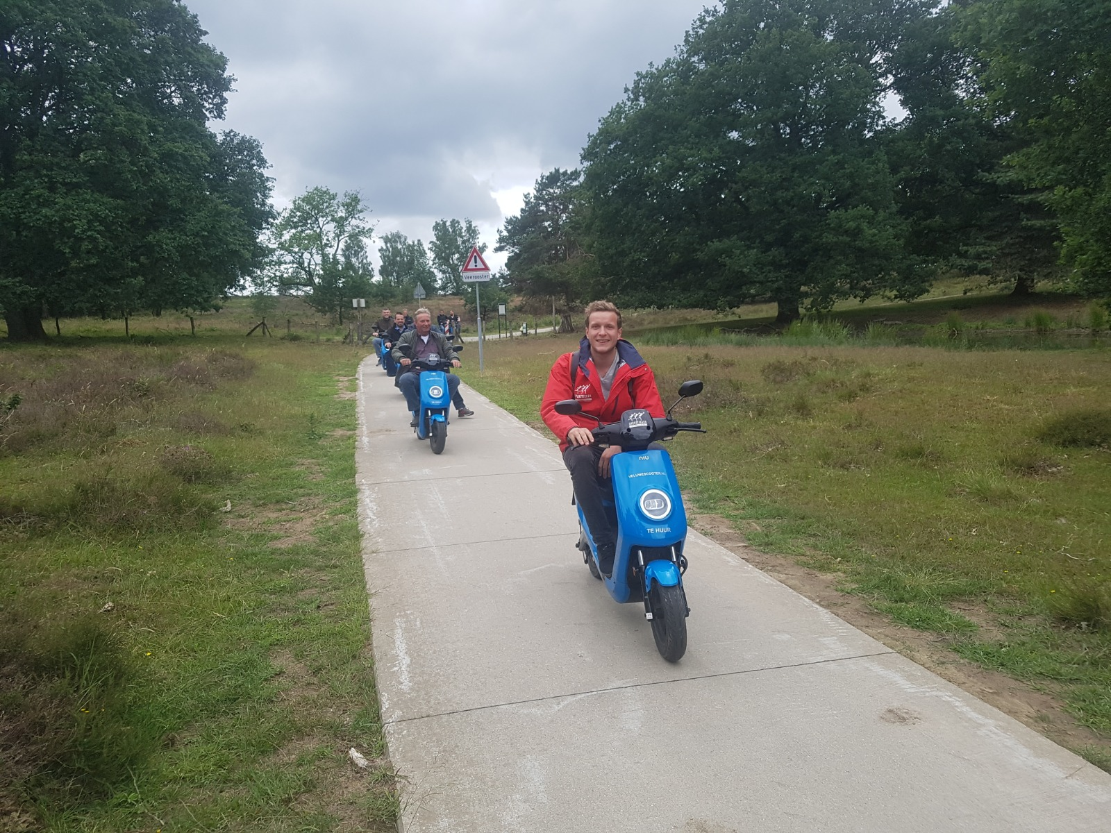 Scooter gids tour