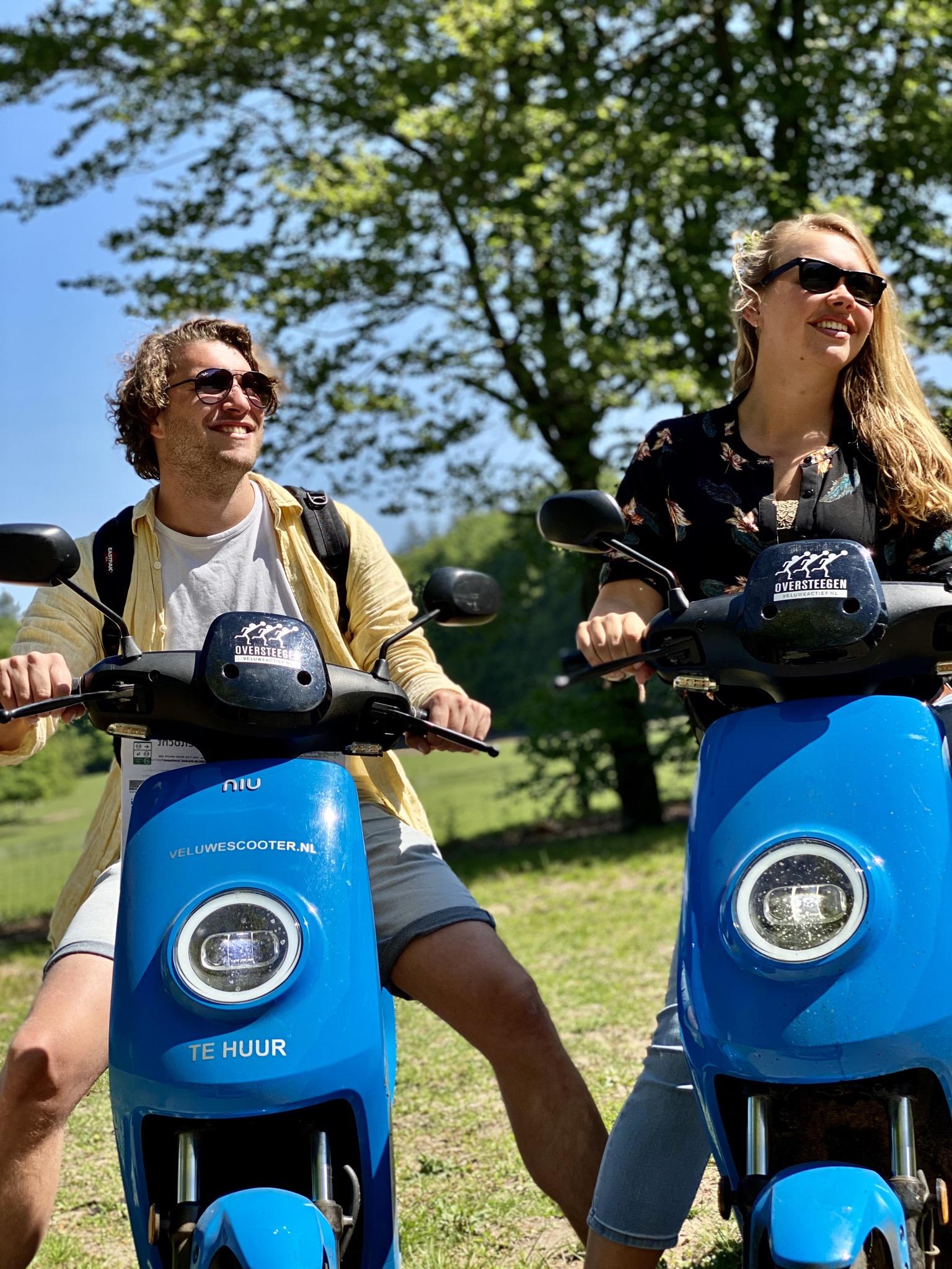 Blauwe VeluweScooter