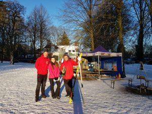 Het wintersportteam van VeluweActief