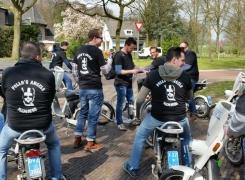 Vrijgezellen VeluweScootertocht