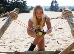 Steppen & Reuze Katapult Bouwen op het Rozendaalse Zand
