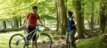 Mountainbiken met gids in Nijmegen
