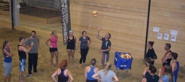 Beach Team Toernooi in het Honigcomplex