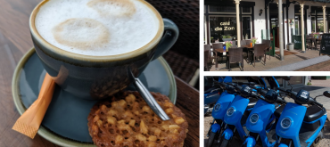 WaalScootertocht met koffie met gebak ontvangst