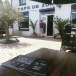 Terras verhuurlocatie Café De Zon weer geopend
